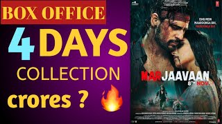 Marjaavaan box office collection,4 days collection, total budget,screen count, critics, review