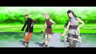[MMD] The Last Naruto,Sakura,Hinata- Wave