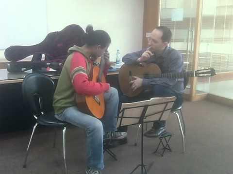 Denis Azabagic teaches Madronos by Federico Moreno Torroba