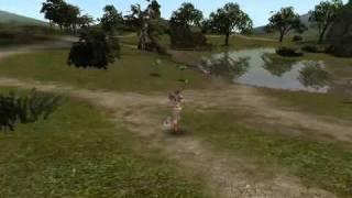 「カロスオンライン」低スペックPC環境プレイ動画