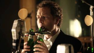 Grolsch Christmas Song Played on Bottle