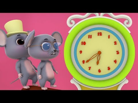 Hickory Dickory Dock | Reime für Babys | Deutsche Kinderlieder | Baby Rhymes | Rhyme Song For Kids