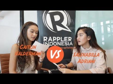 Jawab Cepat bareng cast Surat Cinta untuk Starla - Caitlin Halderman vs Salshabilla Adriani