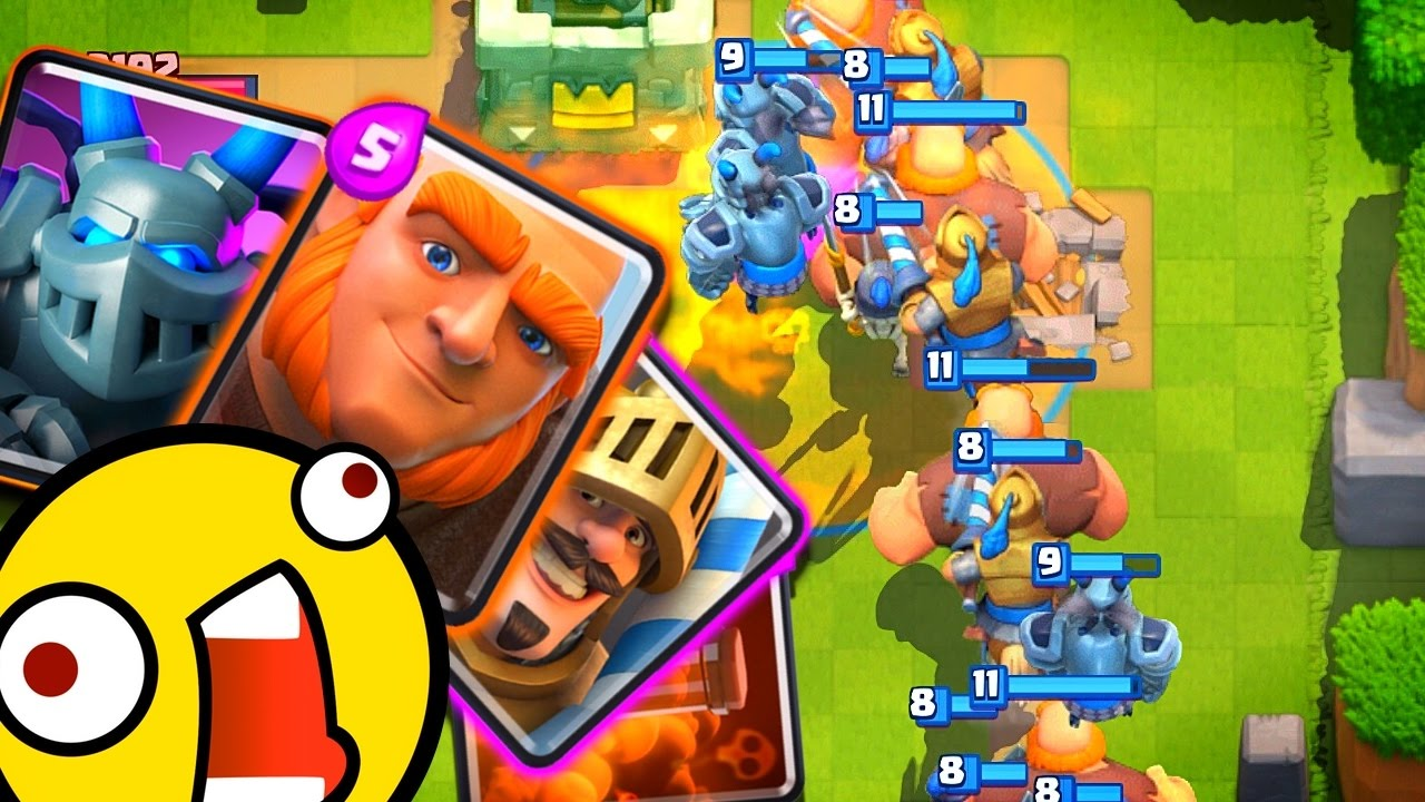 The top clash royale deck youtube for Clash royale deck arc x