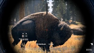 Far Cry 5 - Hunting Bisons - Open World Free Roam Gameplay (PC HD) [1080p60FPS]