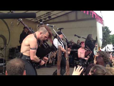 Saltatio Mortis - LIVE - Drunken Sailor [02.06.2013] Spectaculum Worms