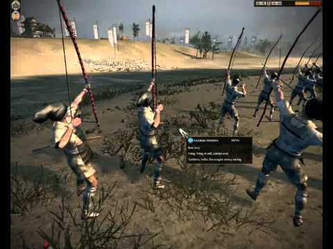 Shogun 2 Total War Rise of The Samurai: Siege of Kawachi - Kamakura Minamoto vs Ishikawa - YouTube