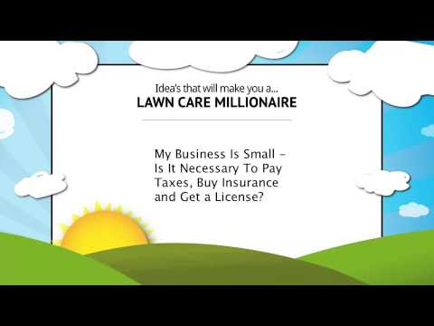 Do I Have To Pay Tax On Landscaping Business Income?