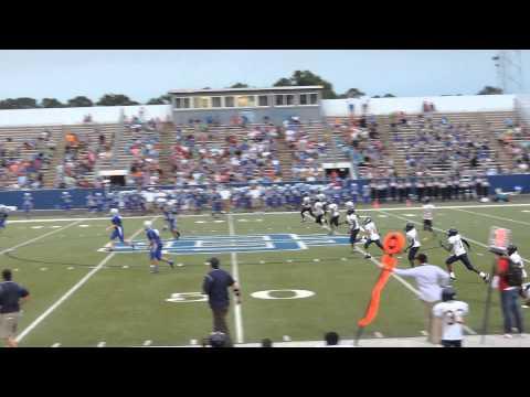 Gautier Middle School 7th grader kicker Kyle Gager