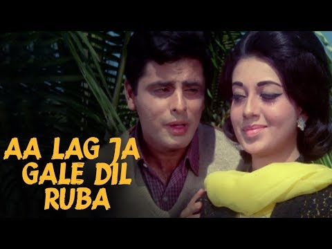 Aa Lag Ja Gale Dilruba - Mohammed Rafi | Old Romantic Songs | Sanjay Khan, Babita | Dus Lakh