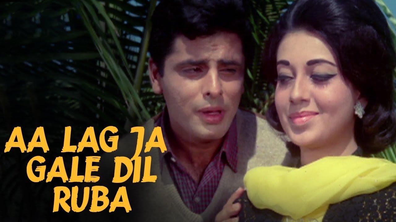 Download Aa Lag Ja Gale Dilruba - Mohammed Rafi | Old Romantic Songs | Sanjay Khan, Babita | Dus Lakh