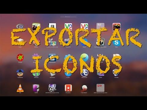 Cómo extraer iconos de las app del Mac