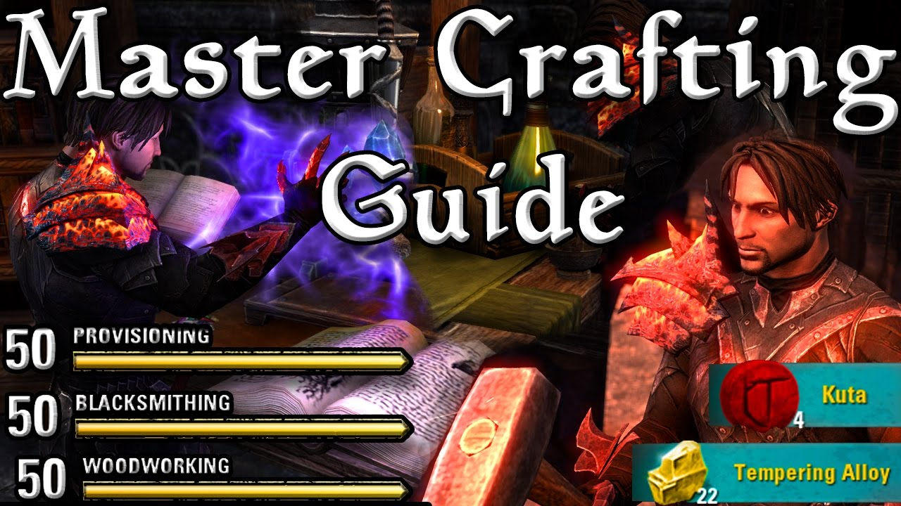 Starting Crafting In Eso