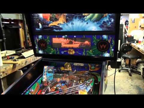 #304 Williams FISH TALES Pinball Machine With The Flapping Fish! Another One Sold! TNT Amusements