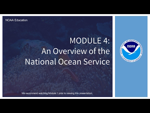 Module 4: An Overview of National Ocean Service Education
