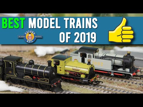 The Best Model Trains of 2019