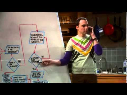 Blue Big Bang Theory Friendship Algorithm