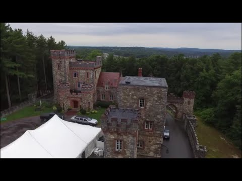 Searles Castle - Windham, New Hampshire (Drone Lady)