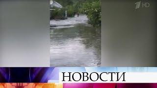 В Краснодарском крае устраняют последствия мощных ливней.