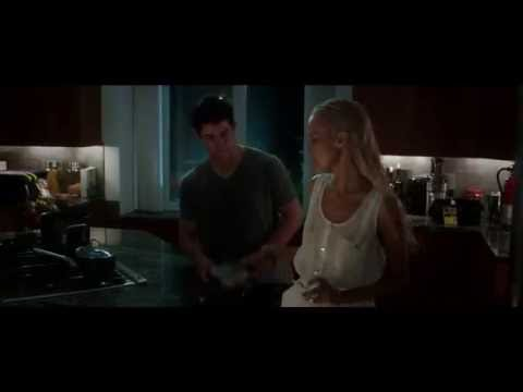Nick Jonas Lifts His Shirt for Isabel Lucas in 'Careful What You Wish For'