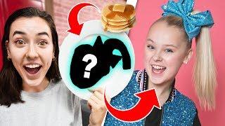 Youtuber Pancake Art Challenge!