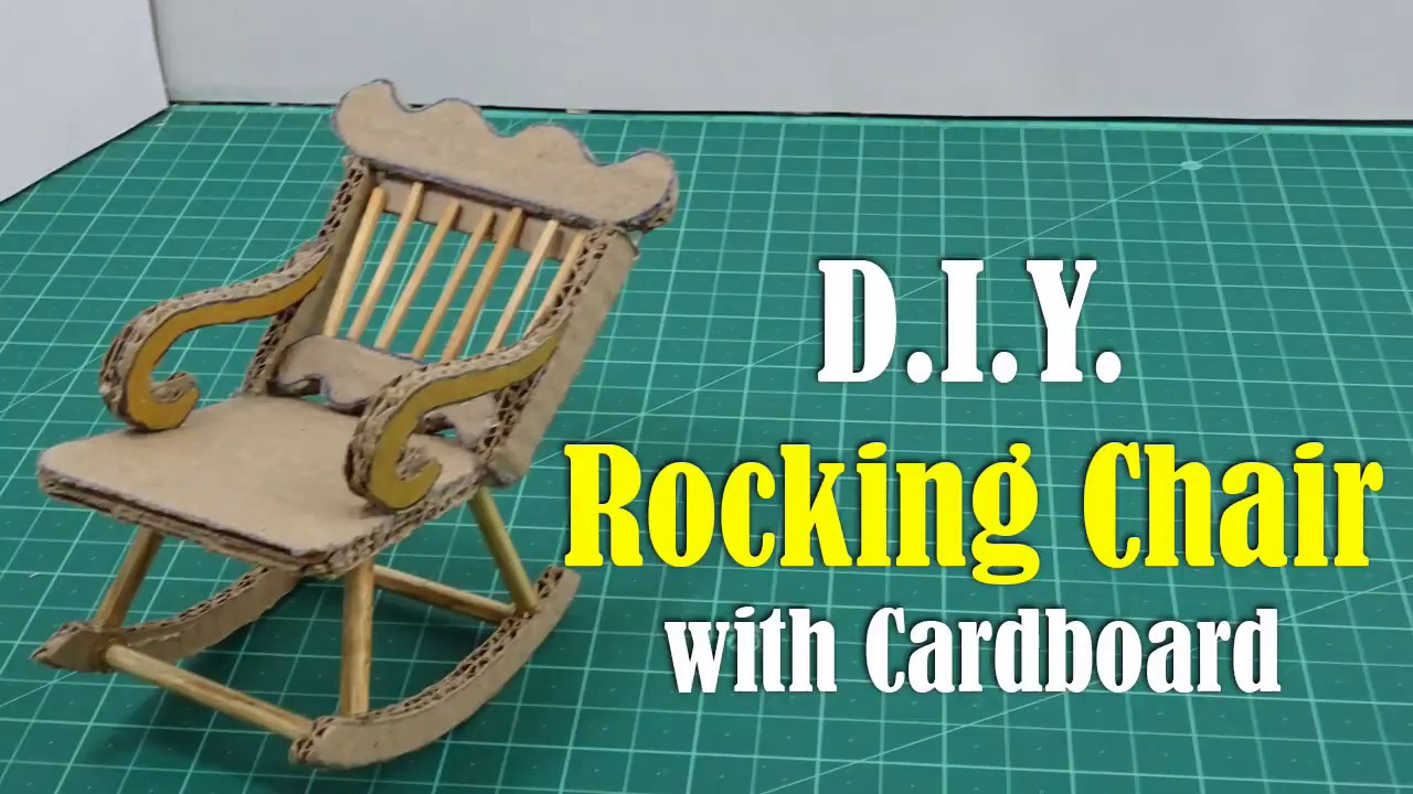 Diy Rocking Chair With Cardboard