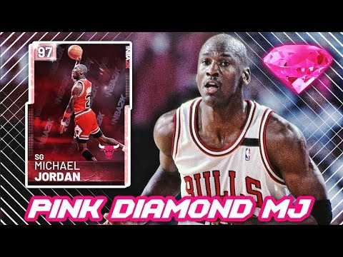 e43f7c80aa7c NBA 2K19 PINK DIAMOND MICHAEL JORDAN IS INSANE!!   4 NEW THROWBACK ELITE  CARDS