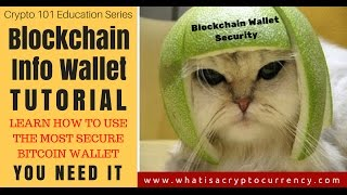 Blockchain Info Wallet Tutorial | How To Get Bitcoin Wallet EASY [Crypto 101 Series]