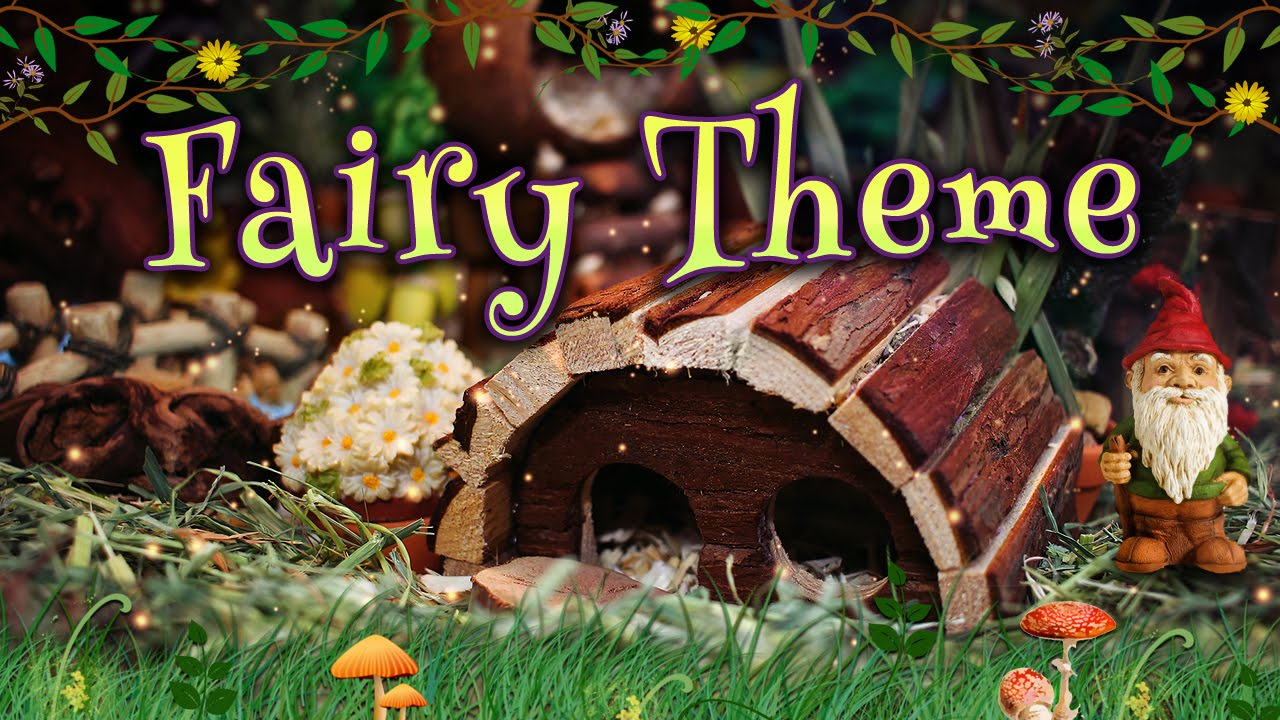 Gingersnap S Fairy Themed Hamster Cage Youtube