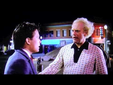 Funniest Deleted Scene From Back To The Future