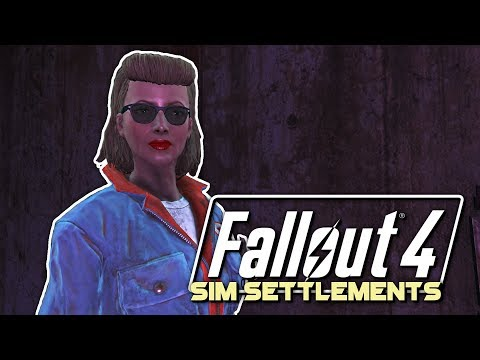 Hey baby! Wanna see my town? | Fallout 4 🛠 Sim Settlements Episode 13 [2018]