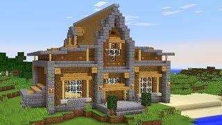 ДОМ ДЛЯ ВЫЖИВАНИЯ В МАЙНКРАФТ - СКАЧАТЬ - Minecraft