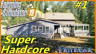 Let's Play FS19, Boulder Canyon Super Hardcore #1: Little House In The Big Woods!