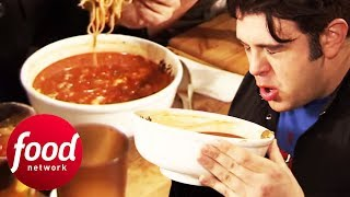 Adam Takes On A Mouth-Meltingly Spicy Ramen Challenge | Man v Food
