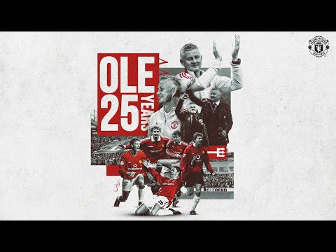 Ole Gunnar Solskjaer   Manchester United Timeline   25 years at Old Trafford!