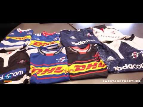 DHL Stormers 2018 jersey launch: Behind the scenes #WeStandTogether