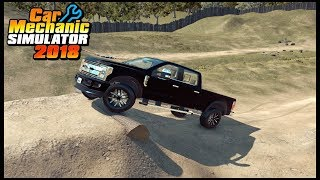 Car Mechanic Simulator 18 - FORD F350 POWERSTROKE OFFROAD TESTING
