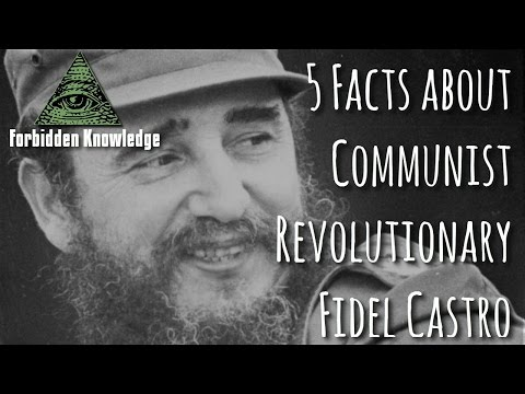 5 Facts about Communist Revolutionary Fidel Castro - Forbidden Knowledge