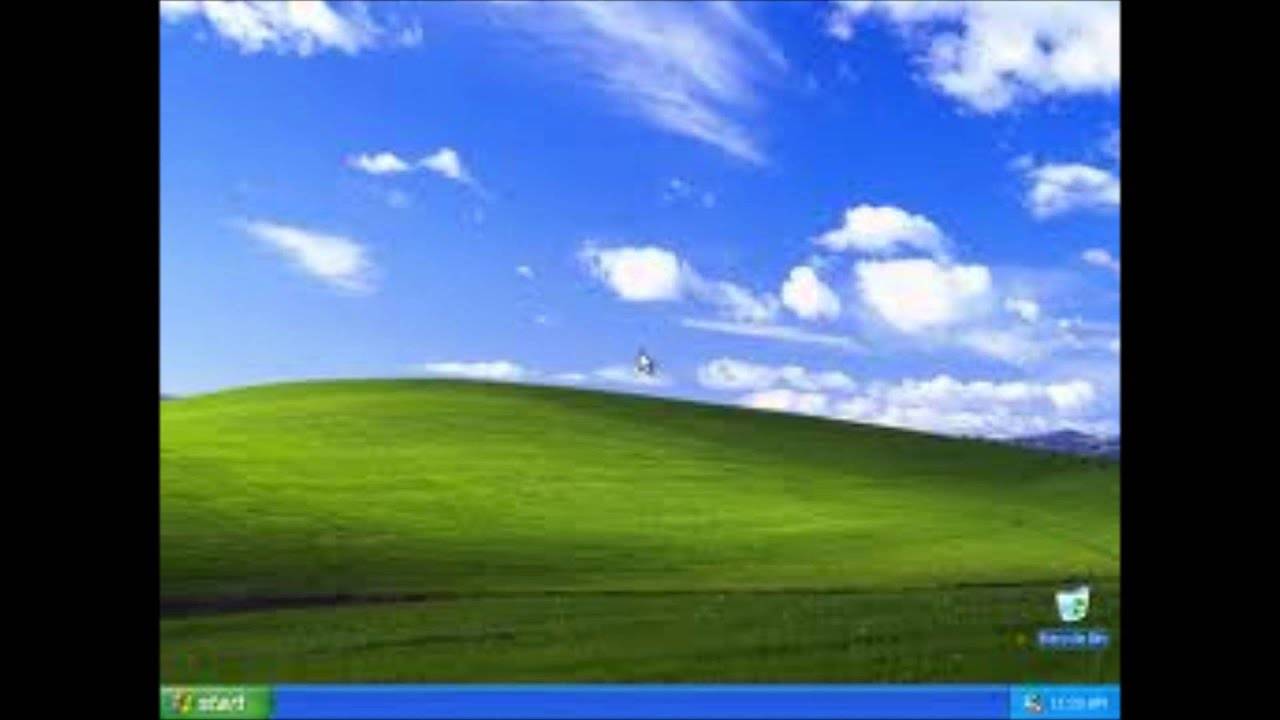 Windows 95 To 7 Boot And Desktop Screens