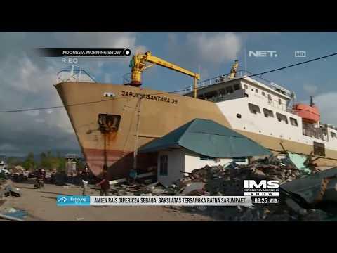 Kapal Seberat 500 Ton Yang Terseret 70 Meter Di Donggala , Akan Dijadikan Monumen- IMS