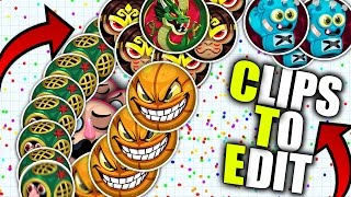 Agario Free Clips To Edit // HD 60 FPS