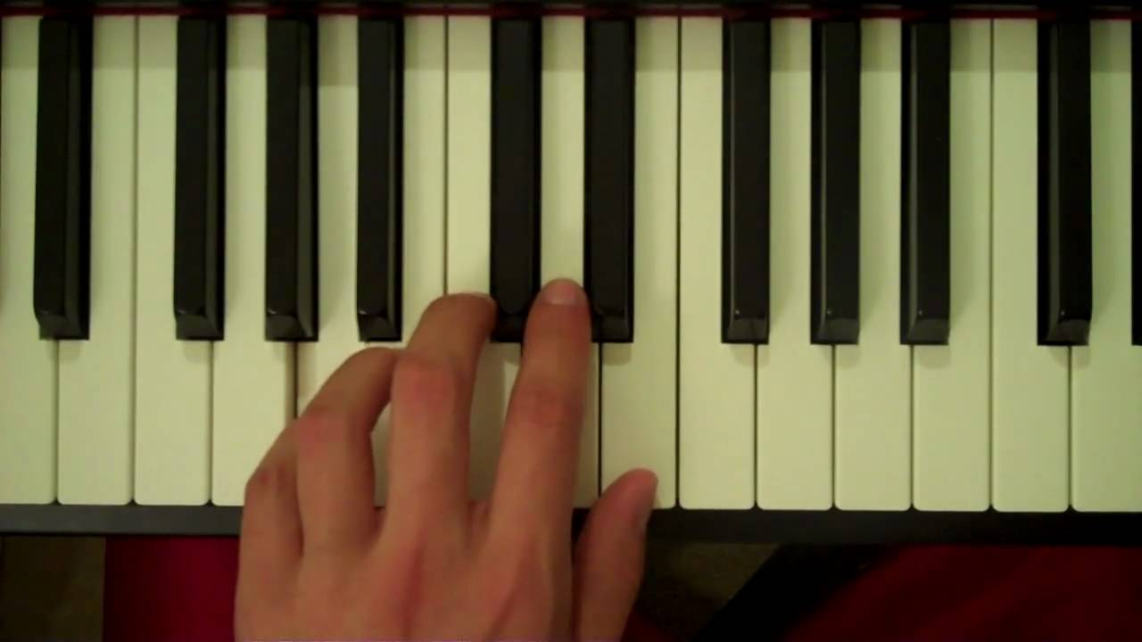 B Flat Chord Piano Left Hand How To Play an ...