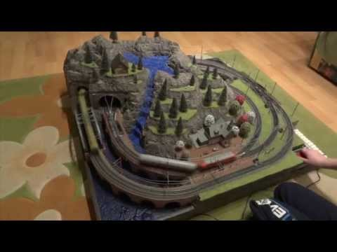How to make a train diorama from scratch (for a model railroad and terrain) Track Plans Track Laying Design And Development