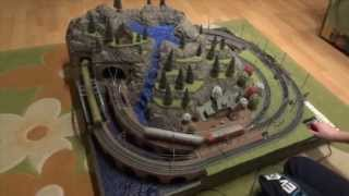 How to make a train diorama from scratch (for a model railroad and terrain)