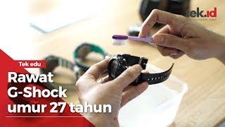 Cara merawat jam tangan G-Shock antik, awet sampai 27 tahun!