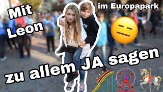 Mein BRUDER(11) bestimmt: Ich muss zu allem JA sagen!😱 (Im Europapark, mit Leon & Timo)