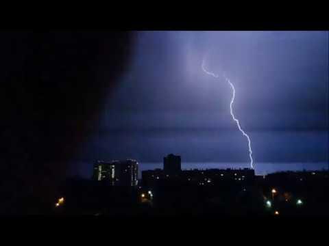 Молния в Челябинске
