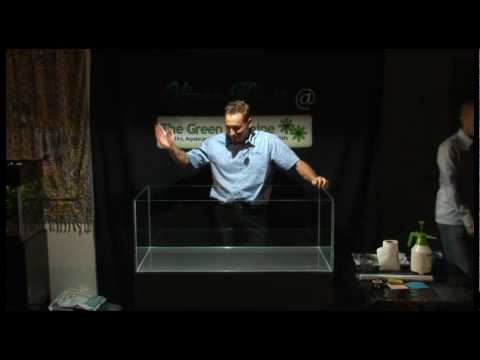 oliver knott the green machine aquascaping demo part 1 of 4 full