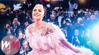 Top 10 Lady Gaga A Star Is Born Press Looks