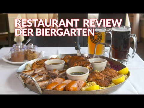 Restaurant   Der Biergarten  Atlanta Eats